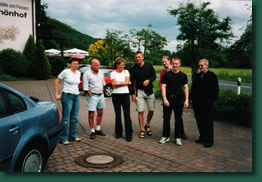 Besuch beim TTC Mittelaschenbach